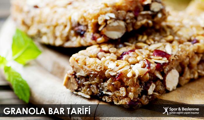 Granola Bar Tarifi