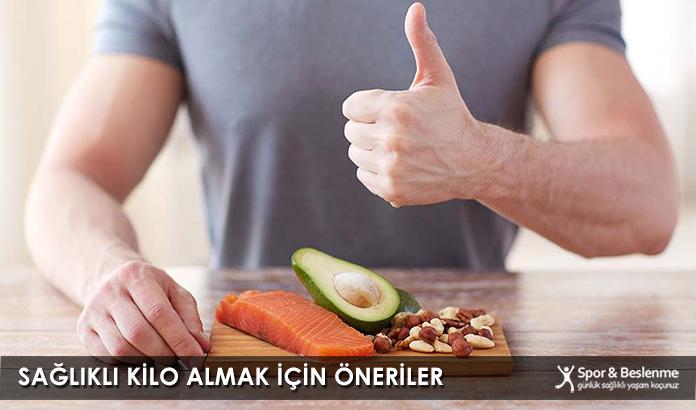 Sağlıklı Kilo Almak İçin Öneriler