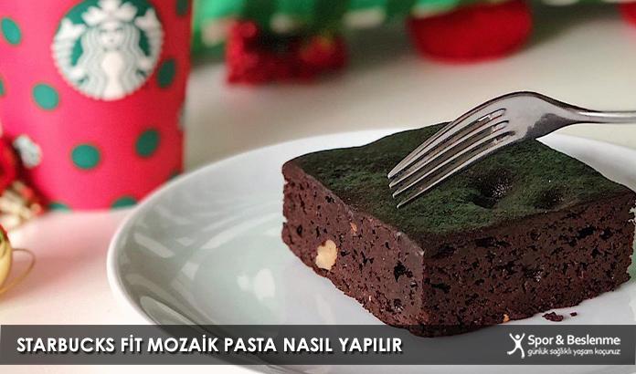 Starbucks Fit Mozaik Pasta Nasıl Yapılır