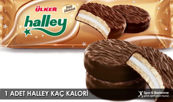 1 Adet Halley Kaç Kalori