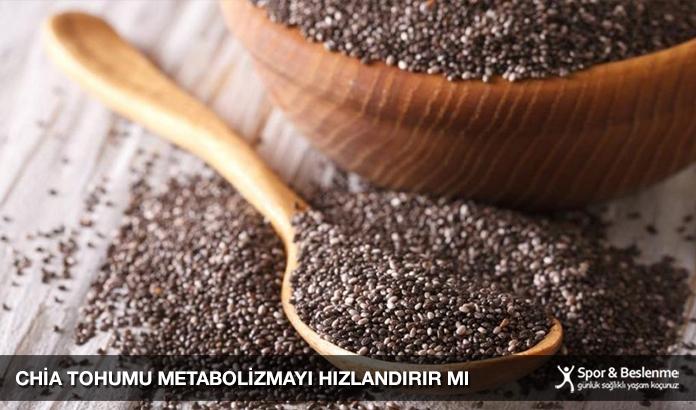 Chia Tohumu Metabolizmayı Hızlandırır Mı