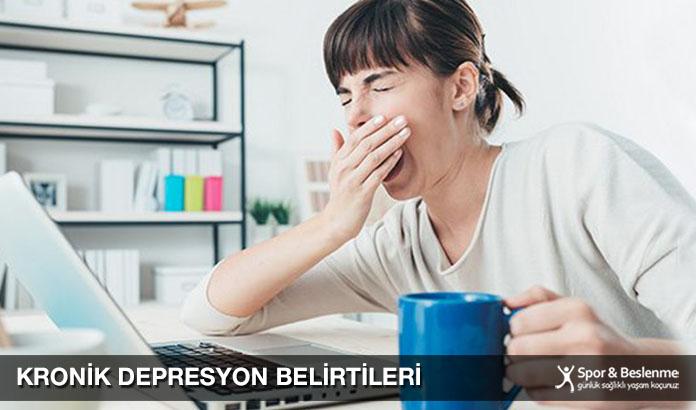 Kronik Depresyon Belirtileri