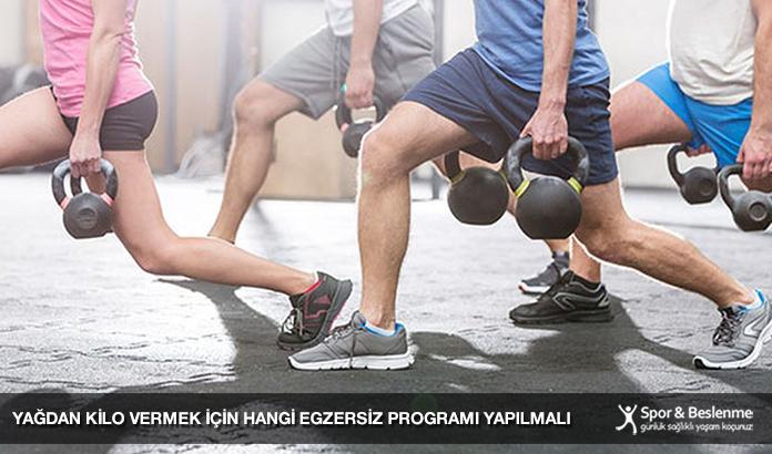 Yağdan Kilo Vermek İçin Hangi Egzersiz Programı Yapılmalı