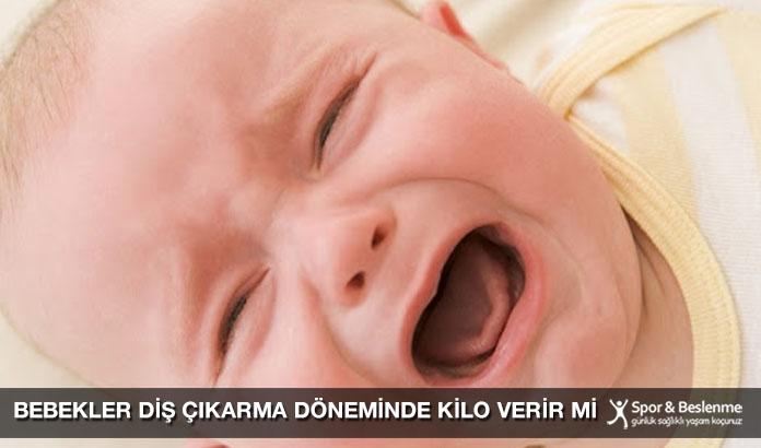 Bebekler Diş Çıkarma Döneminde Kilo Verir Mi