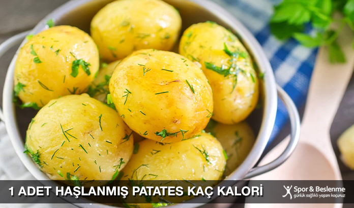 1 Adet Haşlanmış Patates Kaç Kalori
