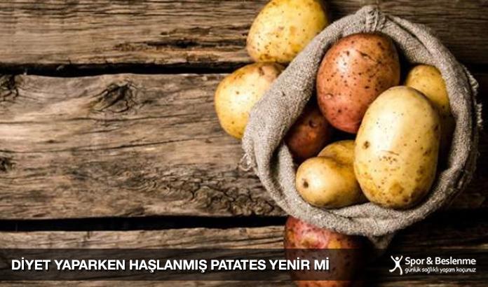 Diyet Yaparken Haşlanmış Patates Yenir Mi