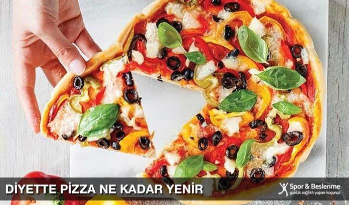 Diyette Pizza Ne Kadar Yenir