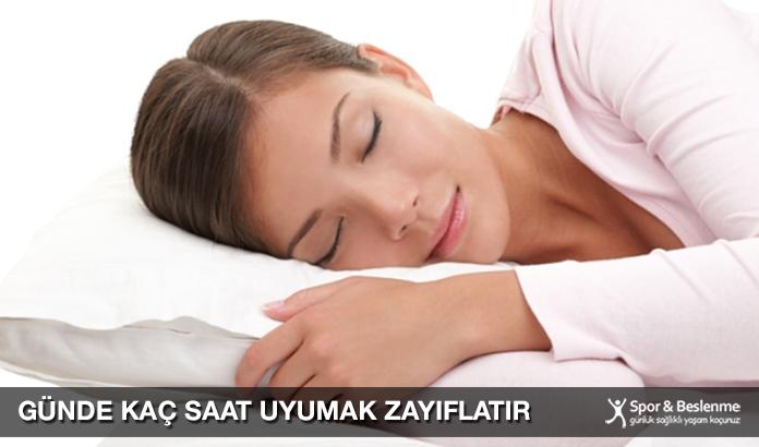 Günde Kaç Saat Uyumak Zayıflatır