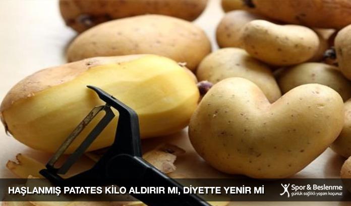 Haşlanmış Patates Kilo Aldırır Mı, Diyette Yenir Mi