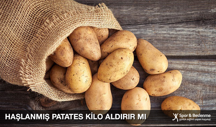Haşlanmış Patates Kilo Aldırır Mı