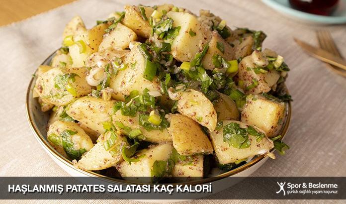 Haşlanmış Patates Salatası Kaç Kalori