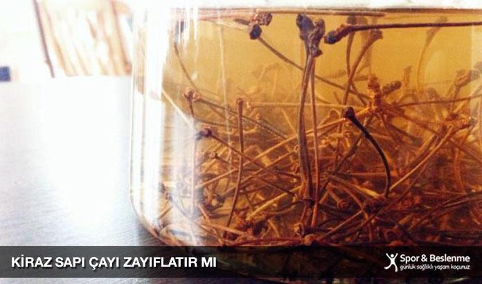kiraz sapı çayı zayıflatır mı