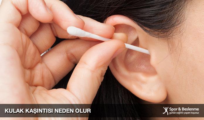 kulak kaşıntısı neden olur