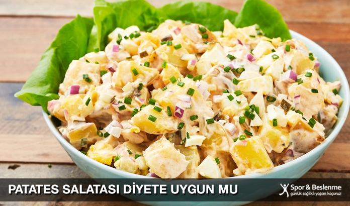 Patates Salatası Diyete Uygun Mu