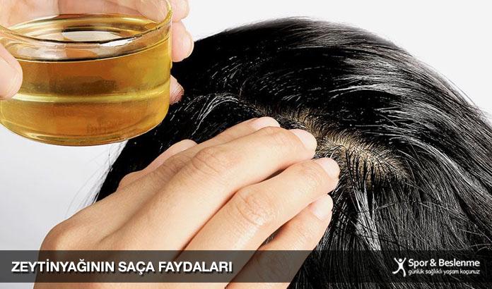 zeytinyağının saça faydaları nelerdir