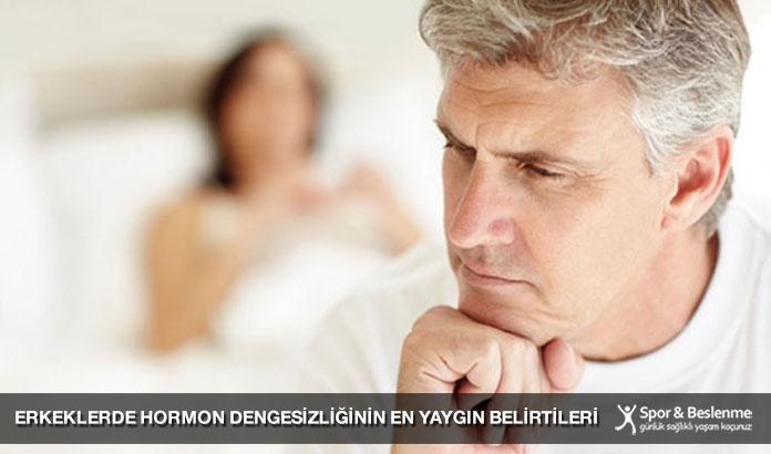 Erkeklerde Hormon Dengesizliğinin En Yaygın Belirtileri